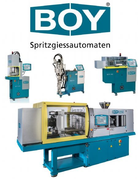 Dr. BOY Injection Molding Machines